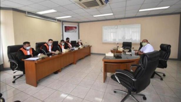 Majelis Kehormatan Partai Gerindra menggelar sidang terhadap Ketua DPC Partai Gerindra Pasaman Barat (Pasbar) yang juga Ketua DPRD Pasbar Parizal Hafni.