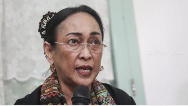 Putri Presiden Pertama Republik Indonesia Sukmawati Soekarnoputri.