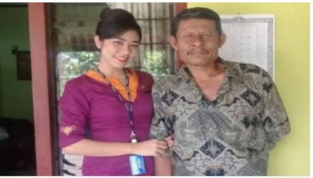 Mia Trasetyani, pramugari Sriwijaya Air SJ 182 yang jatuh.