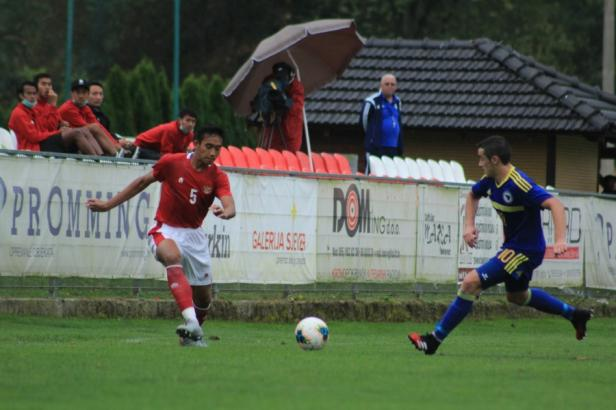 Timnas Indonesia U-19 vs Bosnia