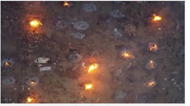 Video Kepulan Asap Jenazah Pasien Covid-19.