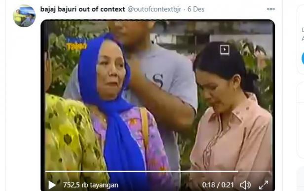 potongan video Sitkom Bajaj Bajuri