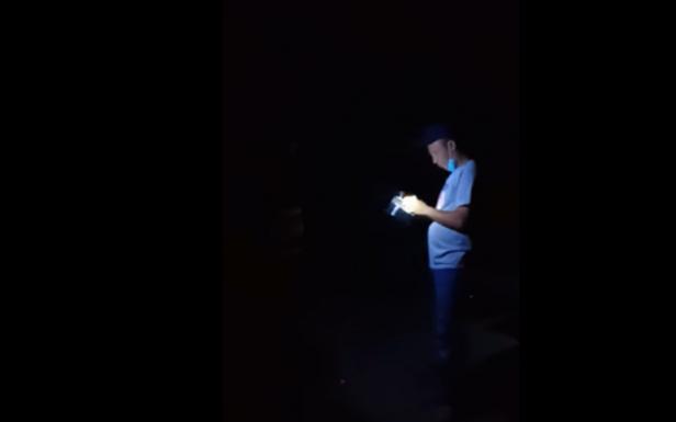 Cuplikan video pengusiran yang beredar di Facebook