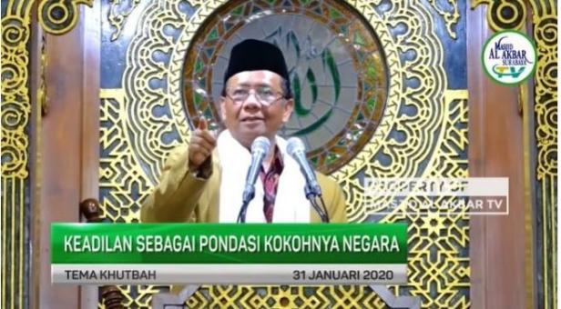 Ceramah Mahfud MD