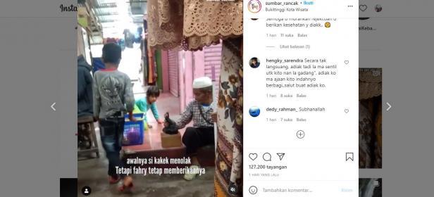 viral bocah penjual gorengan