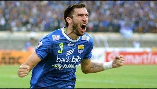 Mantan bek Persib Bandung, Vladimir Vujovic