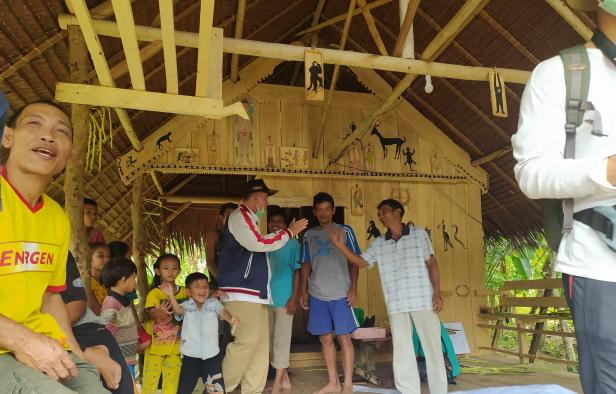Nasrul Abit saat di Mentawai
