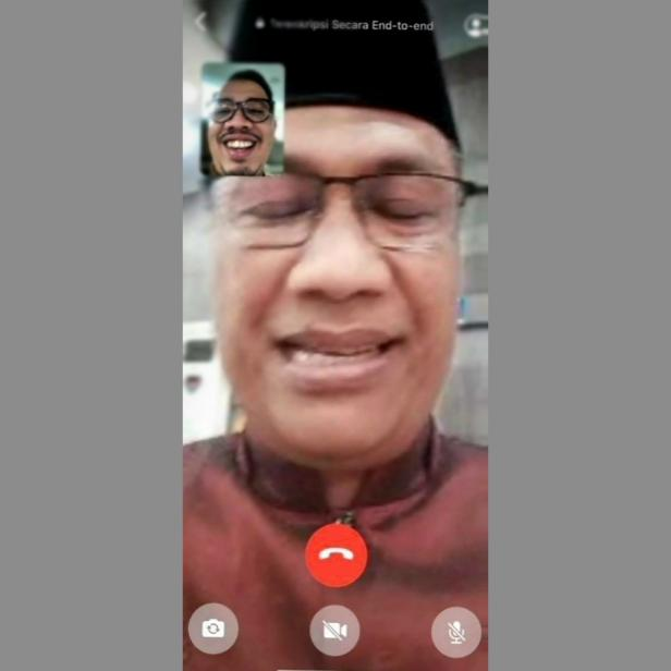 Erman Safar Video Call dengan Marfendi