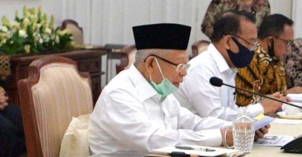Wakil Presiden (Wapres) K.H. Ma'ruf Amin