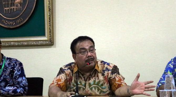Direktur Utama Rumah Sakit Umum Pusat (RSUP) M Djamil Padang, dr Yuriswan Yusuf