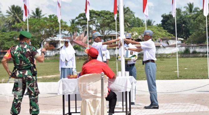 Lomba upacara bendera tingkat SLTA se-Kota Payakumbuh.