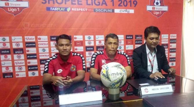 Technical meeting Semen Padang FC kontra Persela.