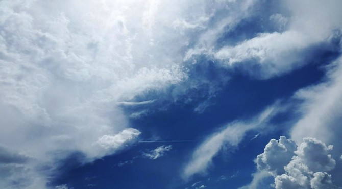 ilustrasi atmosfer bumi