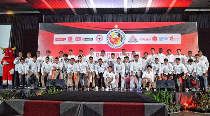 Skuat Semen Padang FC 2019