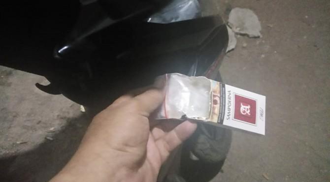 Barang bukti narkoba yang didapatkan petugas dari pengedar di Padang Pariaman.