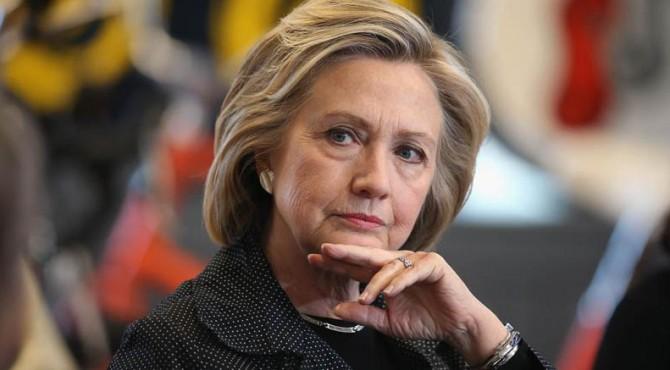 Calon presiden dari Partai Demokrat Hillary Clinton