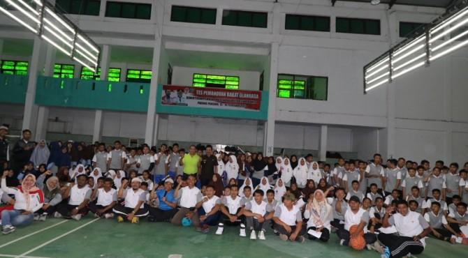 Ratusan pelajar Padangpanjang mengikuti TPB yang diselenggarakan Kemenpora