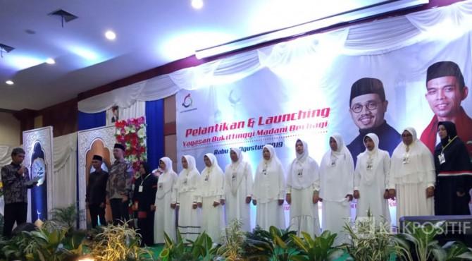 Pelantikan pengurus Yayasan 'Bukittinggi Madani Berbagi'