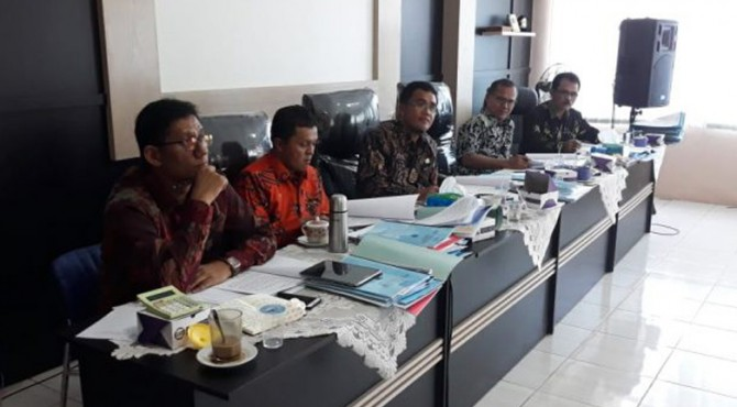 Tim Pansel lelang JPT Eselon II di lingkungan Pemko Payakumbuh.
