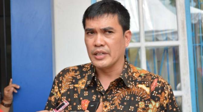 Kepala Bappeda Kepulauan Mentawai Naslindo Sirait