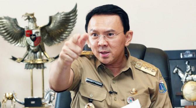 Gubernur DKI Basuki Tjahaja Purnama (Ahok)