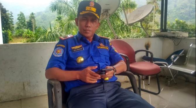Kepala Dinas Satpol-PP dan Damkar Solok Selatan, Efli Rahmat