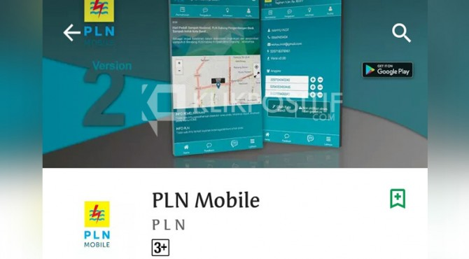 Aplikasi PLN Mobile yang bisa Anda dapatkan di Google Play Store