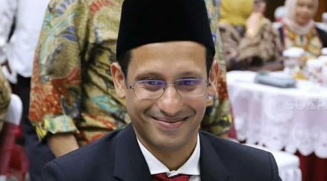 Menteri Pendidikan dan Kebudayaan (Mendikbud) Nadiem Anwar Makarim