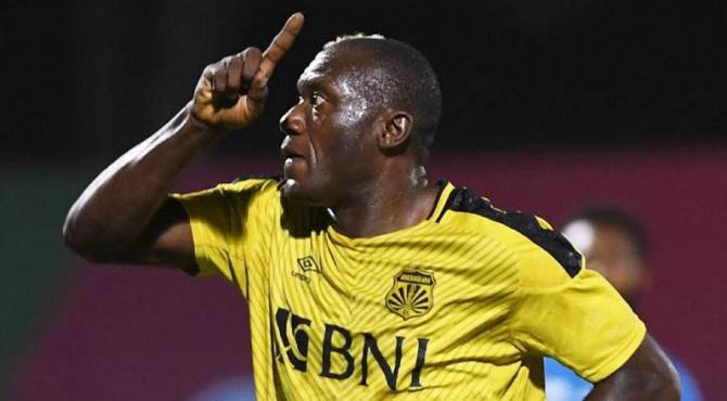 Striker naturalisasi Bhayangkara FC, Herman Dzumafo Epandi
