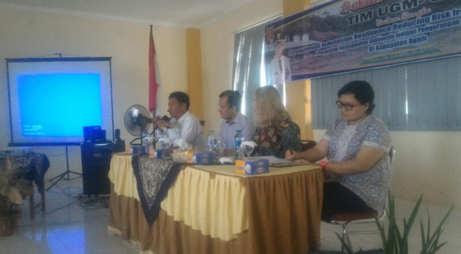 Diskusi Kebencanaan dalam Program StIRRRD