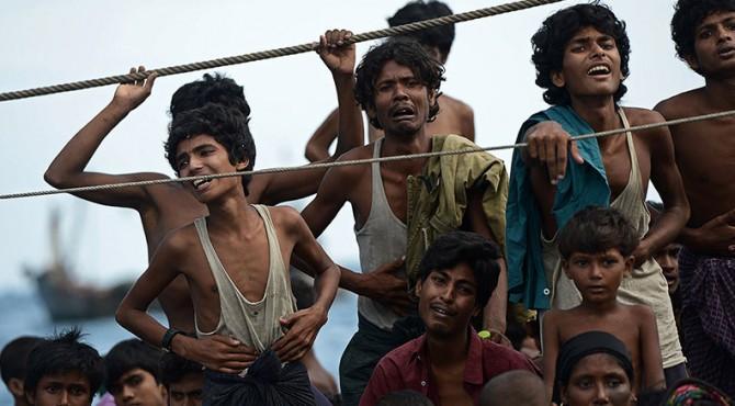 Potret Pengungsio Rohingya