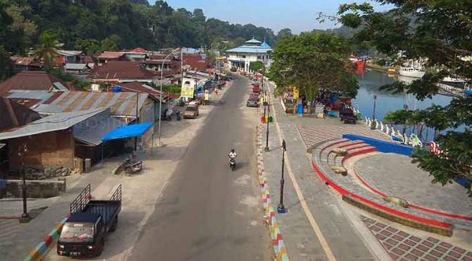 Destinasi Batang Arau Kota Padang.