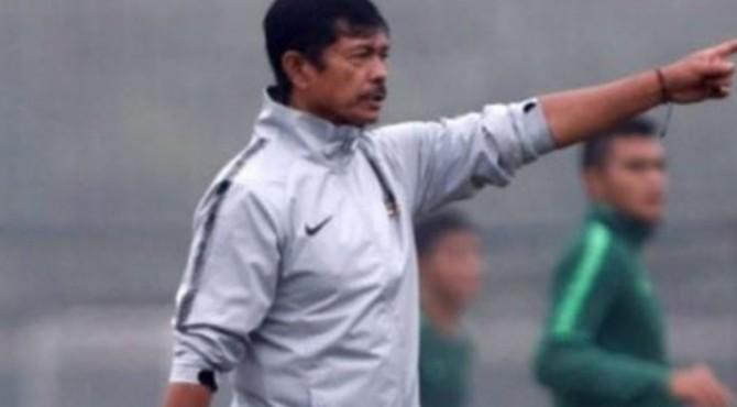 Pelatih tim nasional U-22 Indonesia Indra Sjafri