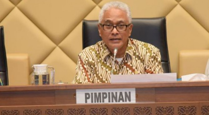 Anggota Komisi II DPR Guspardi Gaus.