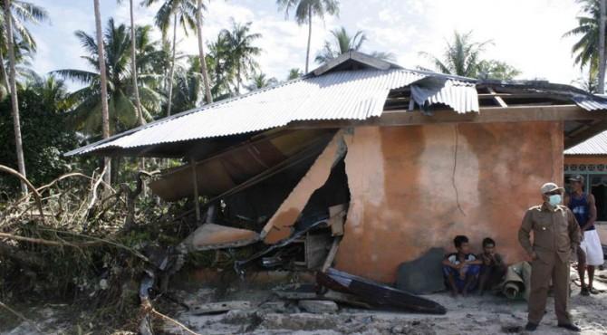 Dampak tsunami Mentawai pada 2010