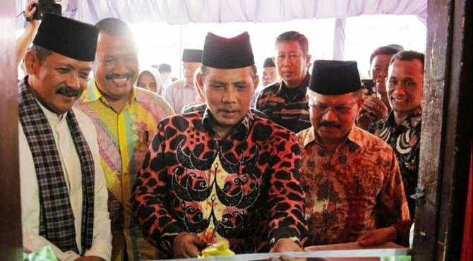 Wawako Solok, Reinier meresmikan sekretariat PKDP Kota Solok di Jalan Cengkeh