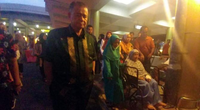 Wagub Sumbar Nasrul Abit sambut kedatangan Putri di BIM
