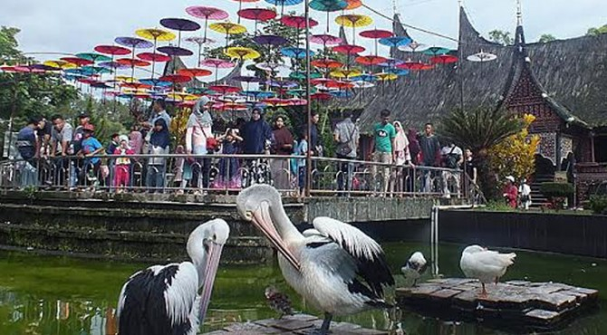 Objek wisata TMSBK Bukittinggi