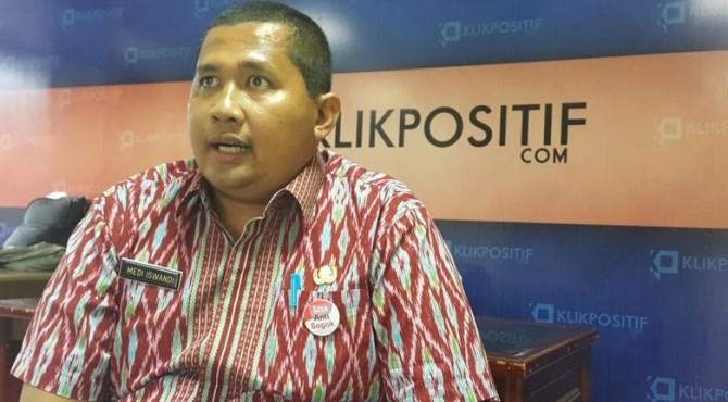 Kepala Dinas Pariwisata dan Kebudayaan Kota Padang Medi Iswandi.