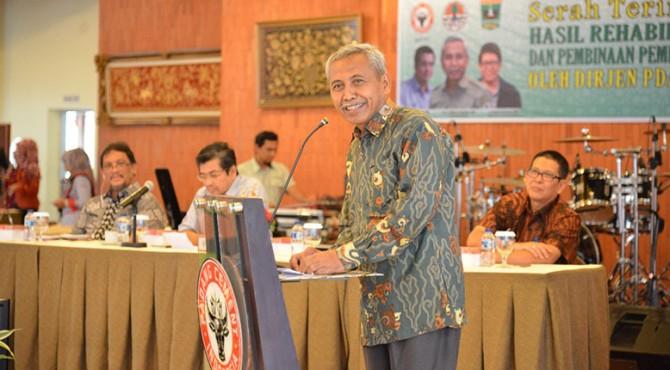 Dirjen Jenderal Pengendalian Daerah Aliran Sungai dan Hutan Lindung Hilman Nugroho