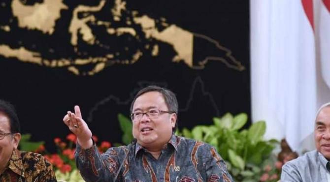 Menteri Perencanaan Pembangunan Nasional/Kepala Badan Perencanaan Pembangunan Nasional Bambang Brodjonegoro
