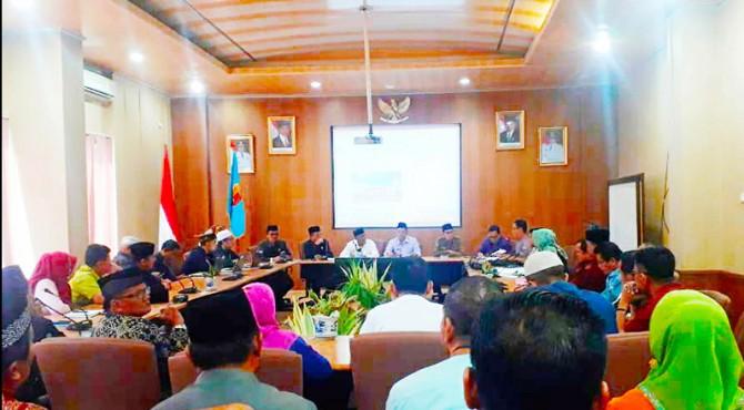 Rapat koordinasi persiapan MTQ Tingkat Sumbar ke 38 di kota Solok