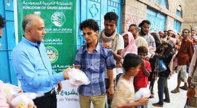 Pusat Bantuan dan Kemanusiaan Raja Salman (KSRelief) Arab Saudi meluncurkan sebuah proyek untuk mendistribusikan 596.340 makanan buka puasa di Somalia