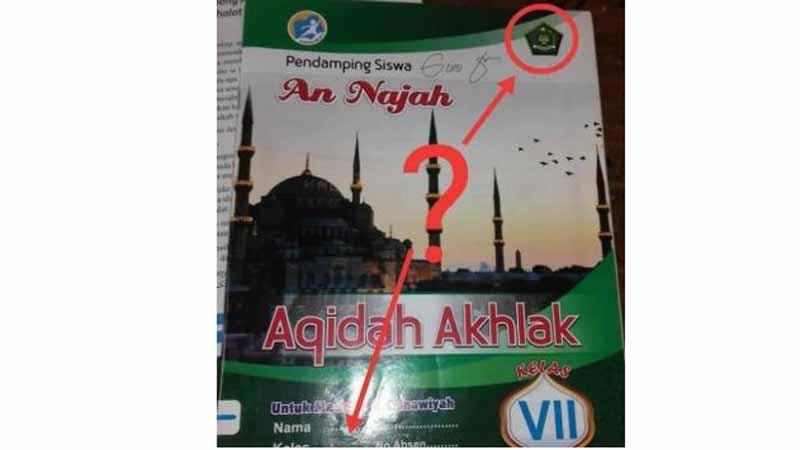 Buku Aqidah Akhlak Gema Nusa Segera Ditarik