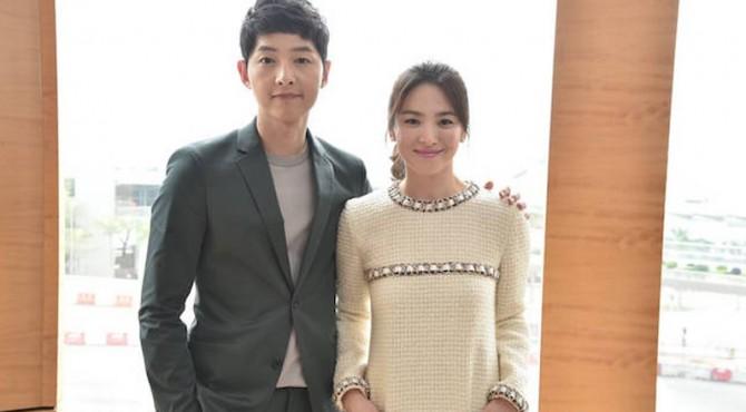 Song Jong Ki dan Song Hye Kyo.