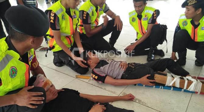 BMKG dan Pusdalops Adakan Simulasi Bencana Tsunami di Kota Padang