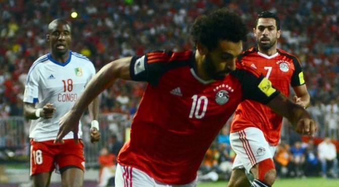 Mohamed Salah jadi pahlawan bagi Mesir saat memastikan diri lolos ke Piala Dunia 2018.