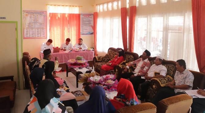 Tim Penilai Lomba Kelurahan Berprestasi (LKB) tingkat Kota Payakumbuh tahun 2019