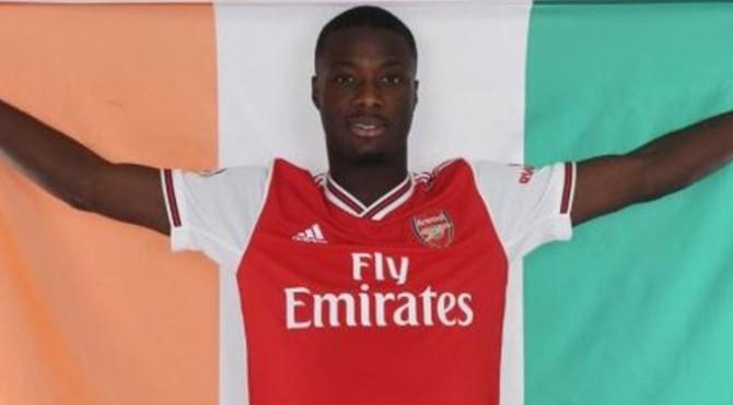 Pemain Arsenal, Nicolas Pepe