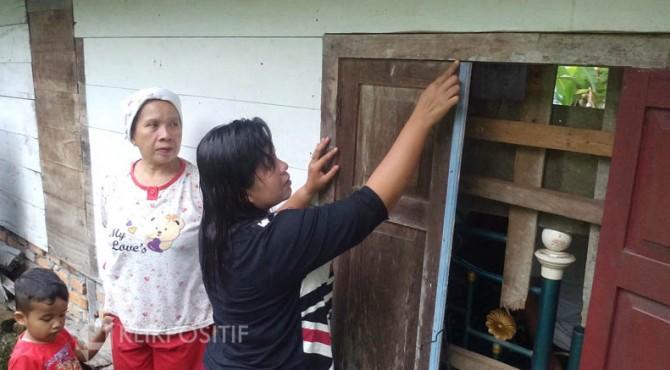 Maling Siang Bolong Gasak Emas 30 Gram Di Padang Pariaman